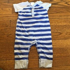 Hanna Andersson striped outfit size 6-12M